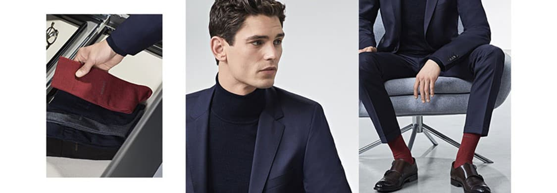 Gợi Ý Kết Hợp Màu Sắc Giữa Suit Và Tất 7