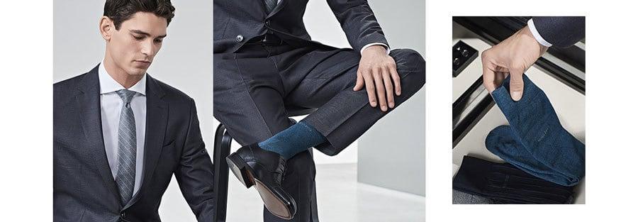Gợi Ý Kết Hợp Màu Sắc Giữa Suit Và Tất 9