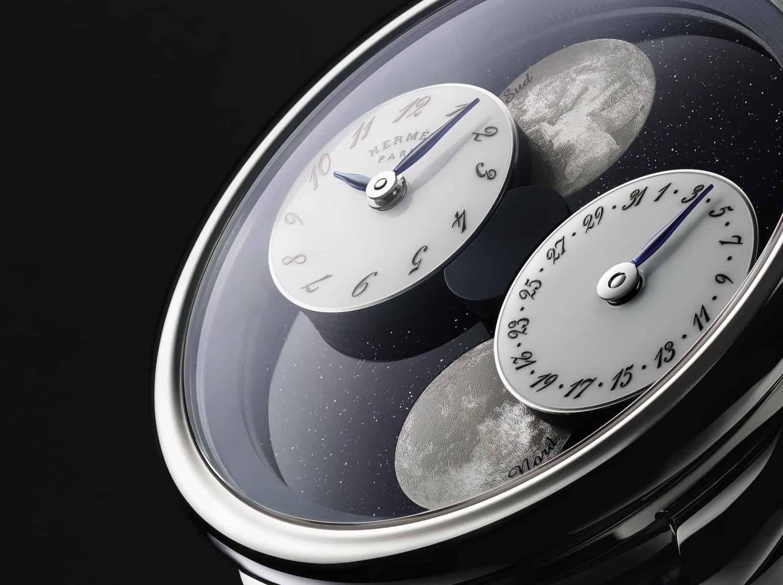 """Câu Chuyện Về """"Hai Mặt Trăng"""": Hermès Arceau L'Heure De La Lune 1"""