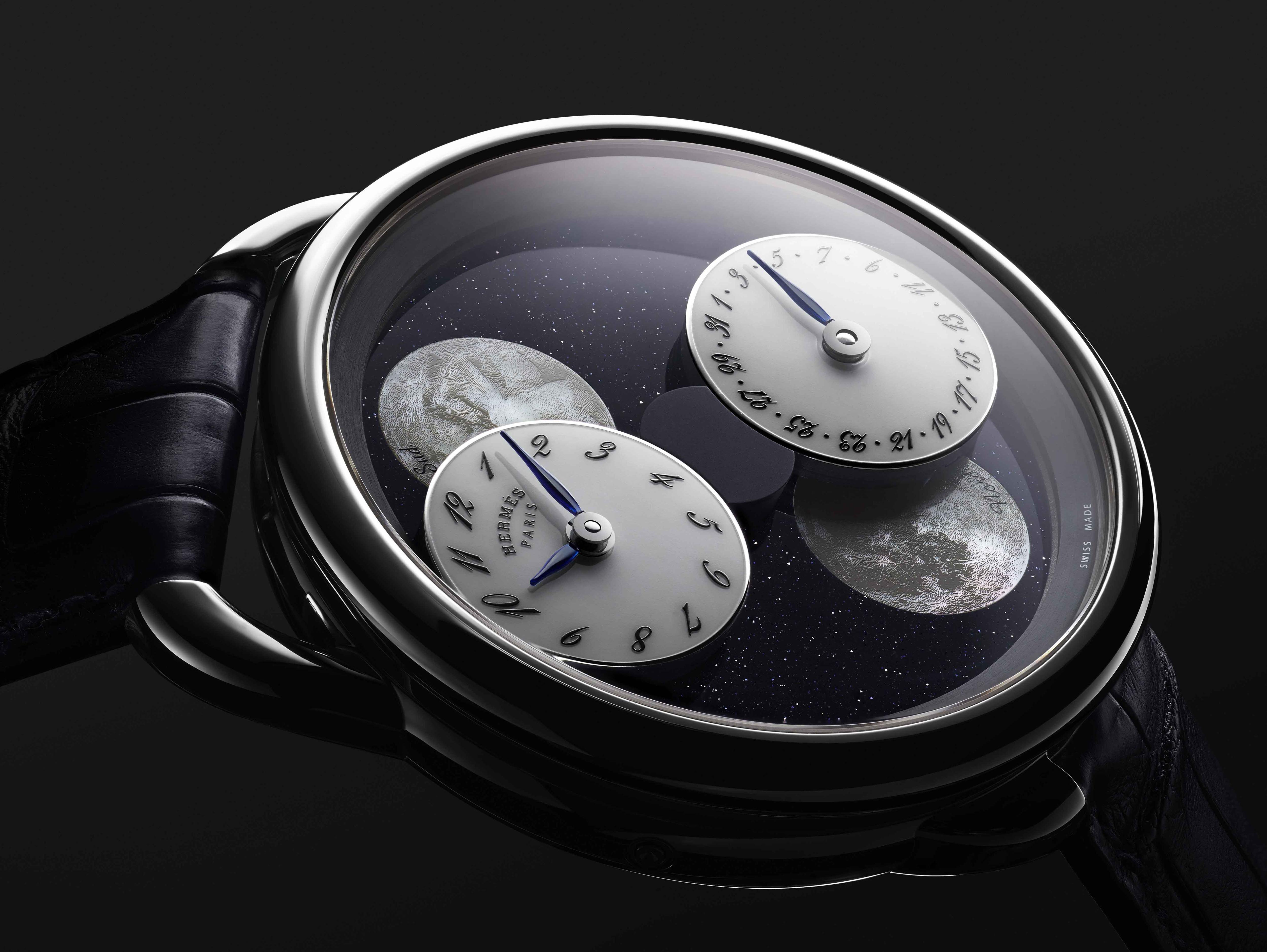 """Câu Chuyện Về """"Hai Mặt Trăng"""": Hermès Arceau L'Heure De La Lune 7"""