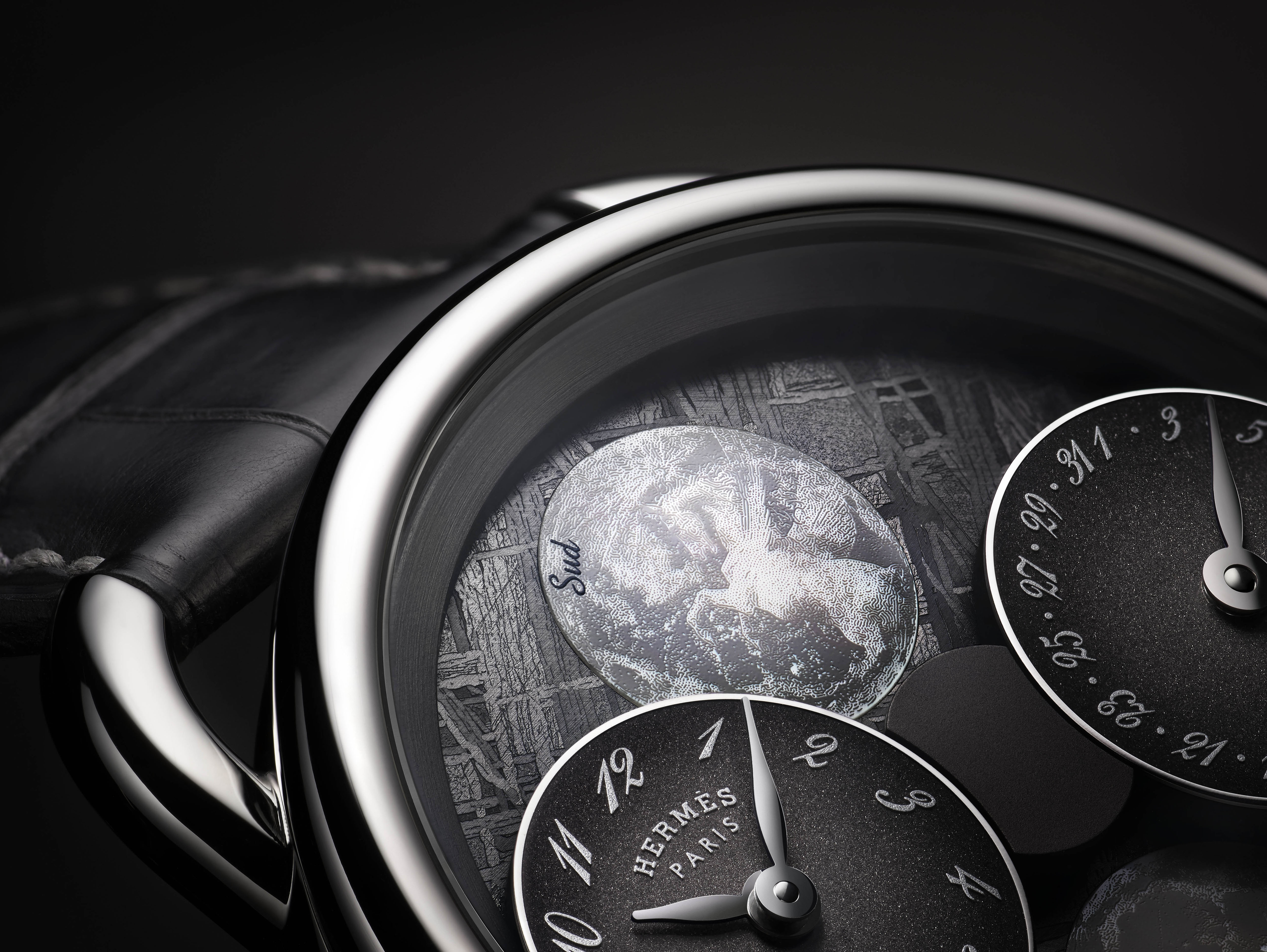 """Câu Chuyện Về """"Hai Mặt Trăng"""": Hermès Arceau L'Heure De La Lune 5"""