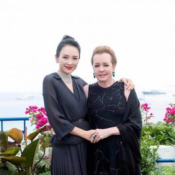 Zhang Ziyi and Caroline Scheufele in Cannes, May 22, 2019