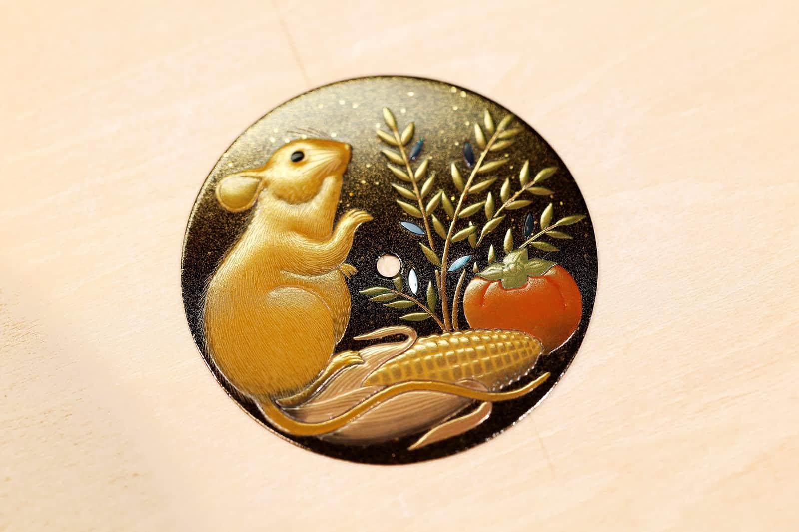 L.U.C Xp Urushi Year Of The Rat Sơn Mài, Niềm Lạc Quan Và Thịnh Vượng 5
