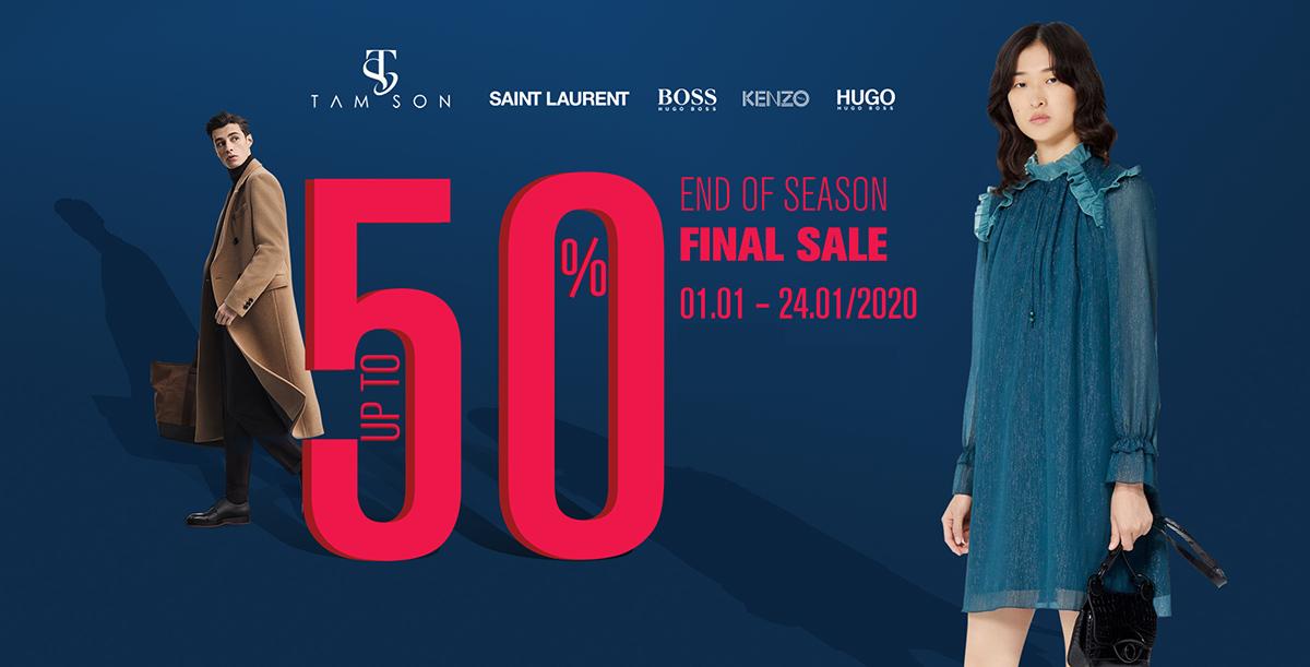 Tamson End Of Season Sale - Ưu Đãi Đến 50% 1