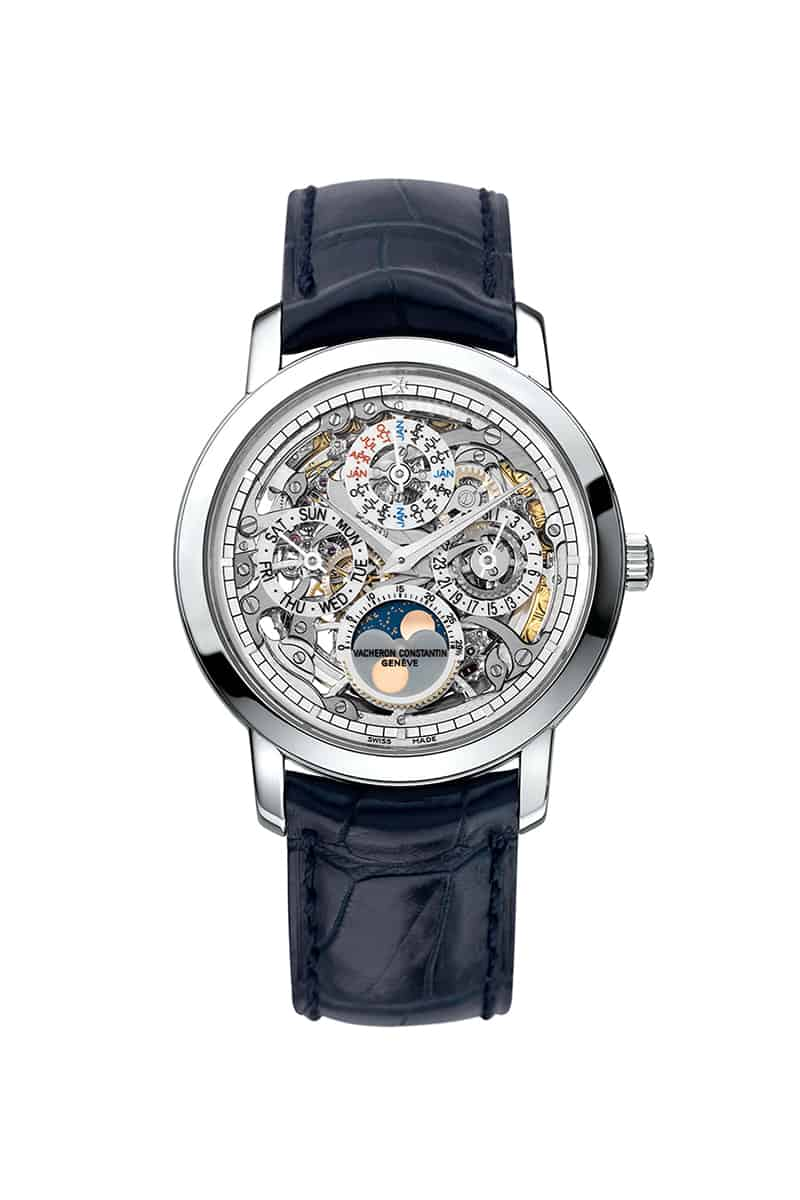 Đồng hồ Vacheron Constantin Traditionnelle Perpetual Calendar Skeleton 1