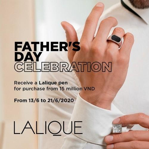 Lalique Tặng Bạn Chiếc Bút Để Bạn Kể Câu Chuyện Của Cha 1