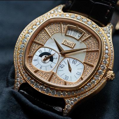 Cận cảnh đồng hồ kim cương tiền tỷ Piaget 1