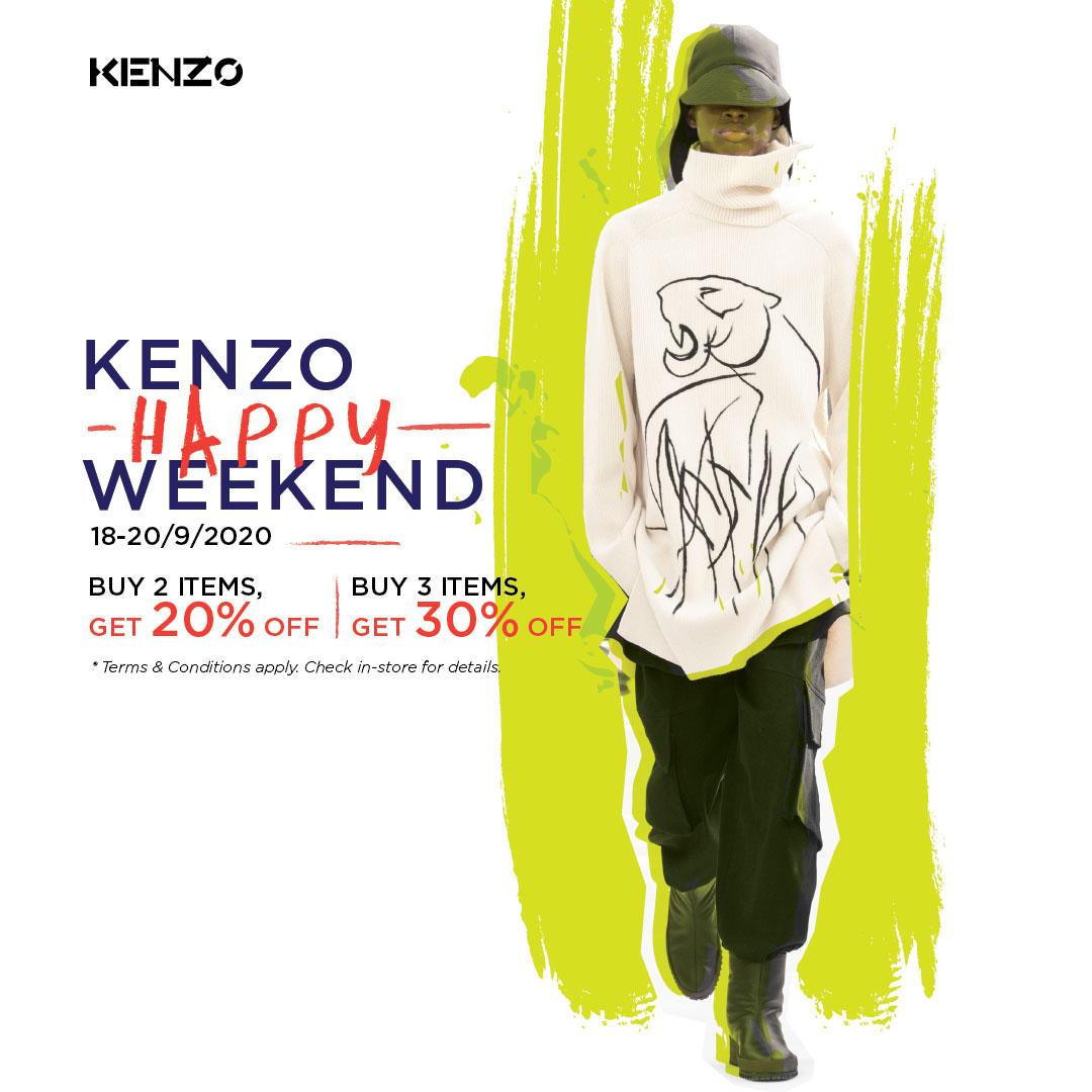Kenzo Happy Weekend 1