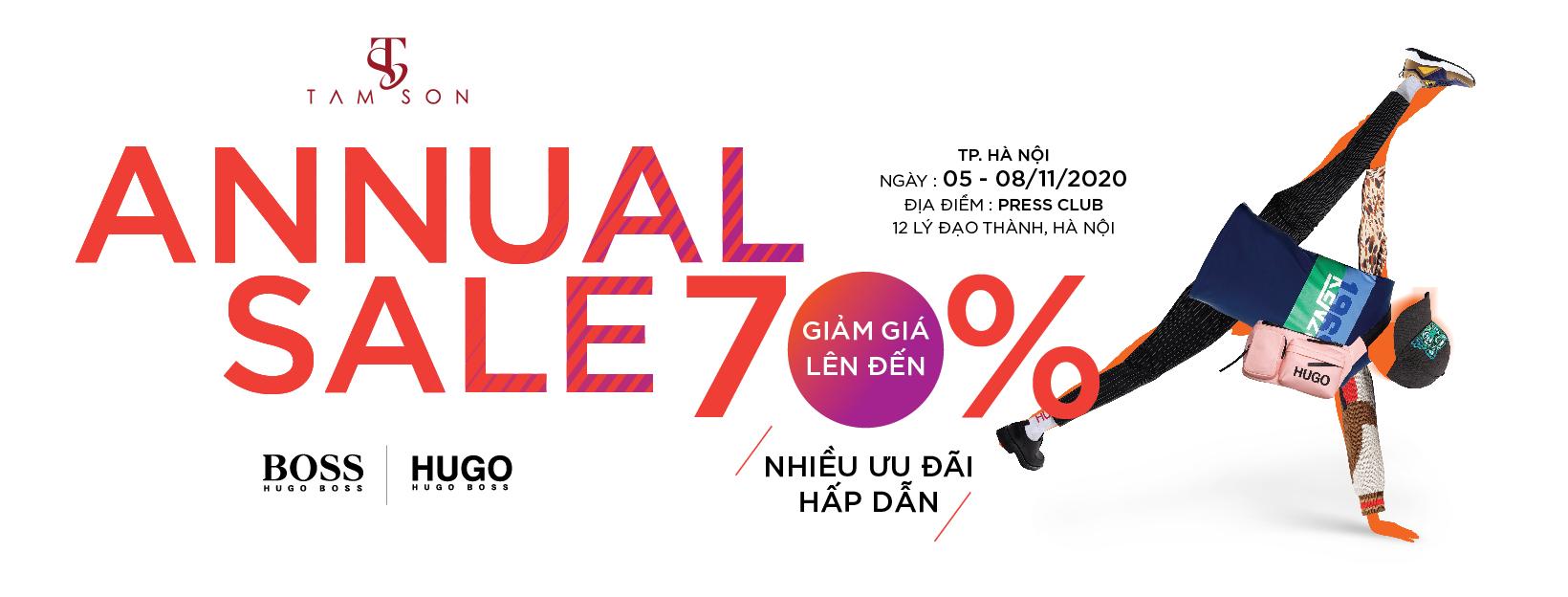 Annual sale 1
