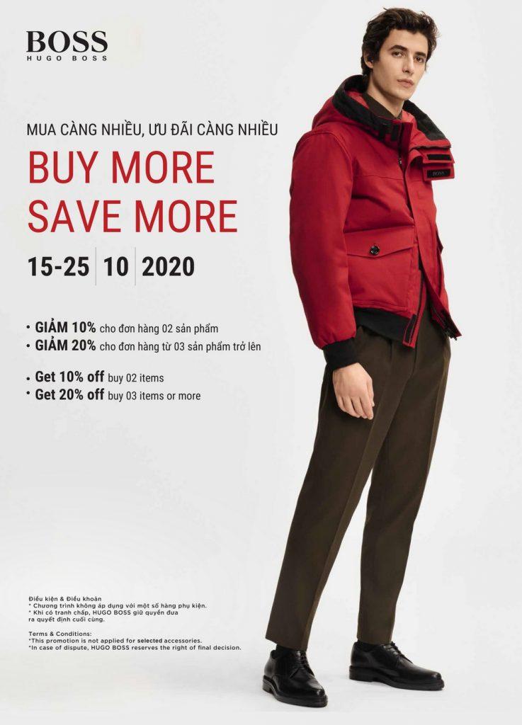 Buy More Save More với BOSS & HUGO 5