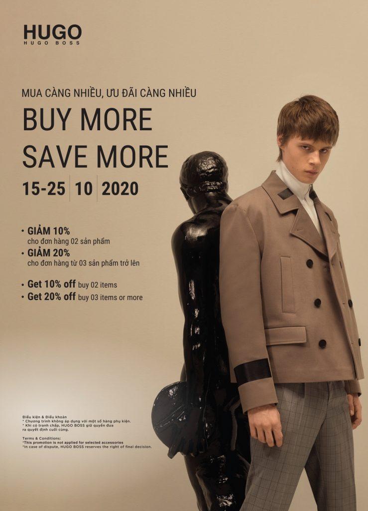 Buy More Save More với BOSS & HUGO 7
