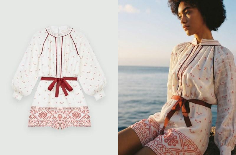Đón vầng dương rực rỡ đầu hạ cùng BST thời trang từ thương hiệu nước Pháp Maje 3