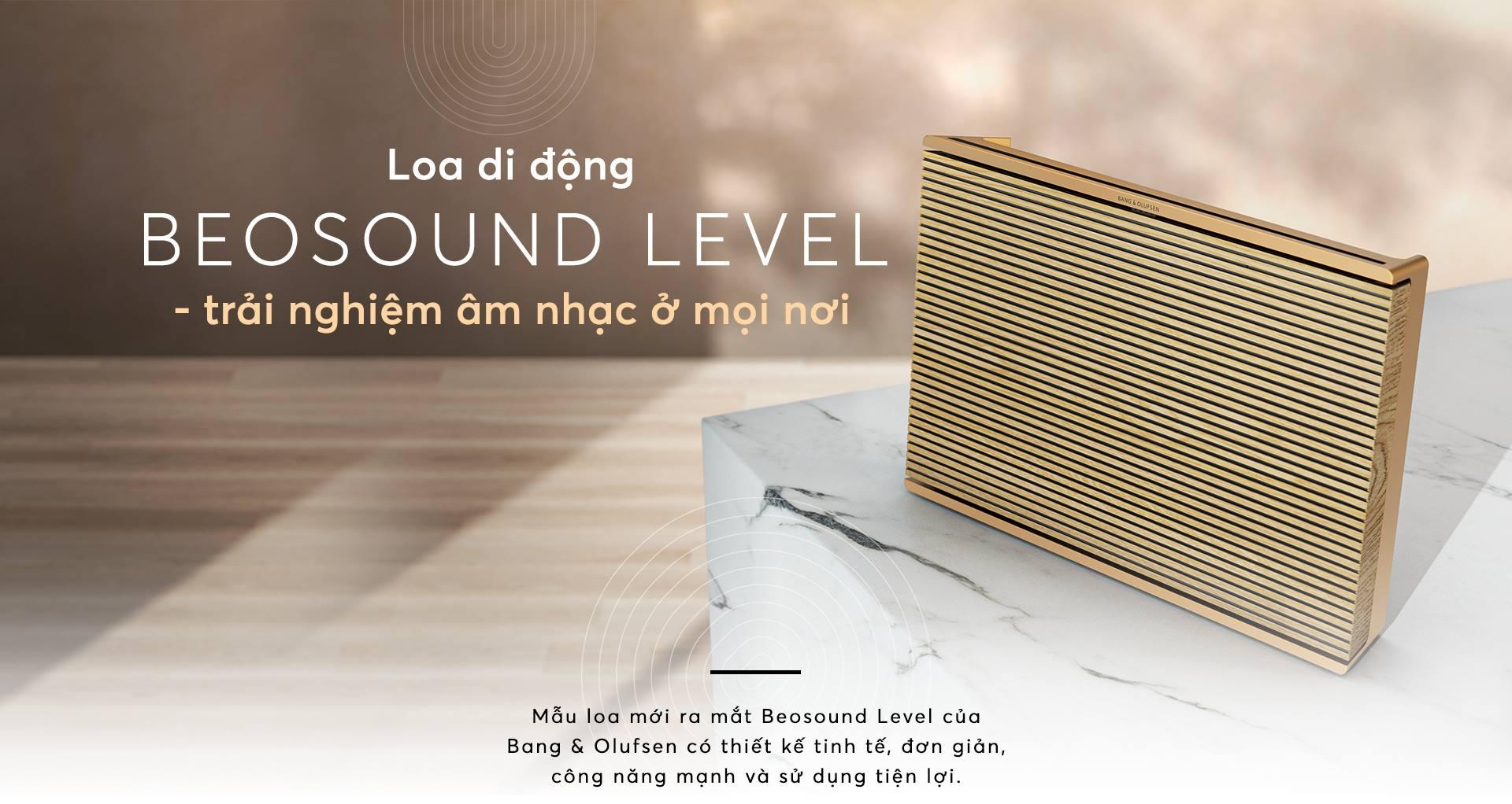 Loa di động Beosound level - trải nghiệm âm nhạc ở mọi nơi 41