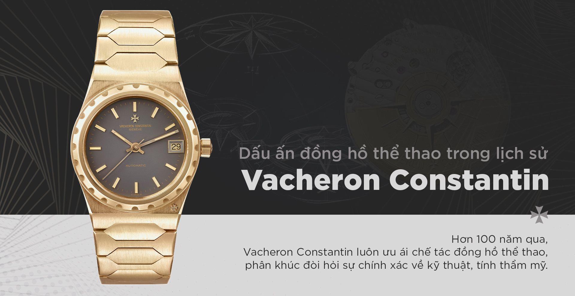Dấu ấn đồng hồ thể thao trong lịch sử Vacheron Constantin 29